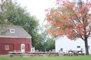 Red Barn & White Barn Courtyard